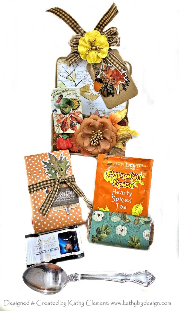 Graphic 45 Large Tag Die Simple Stories Autumn Splendor by kathy Clement Photo 01