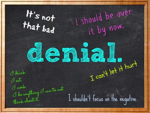denial chalkboard