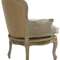 Burlap Sofa Chair Prices French Country Grain Sack Occasional