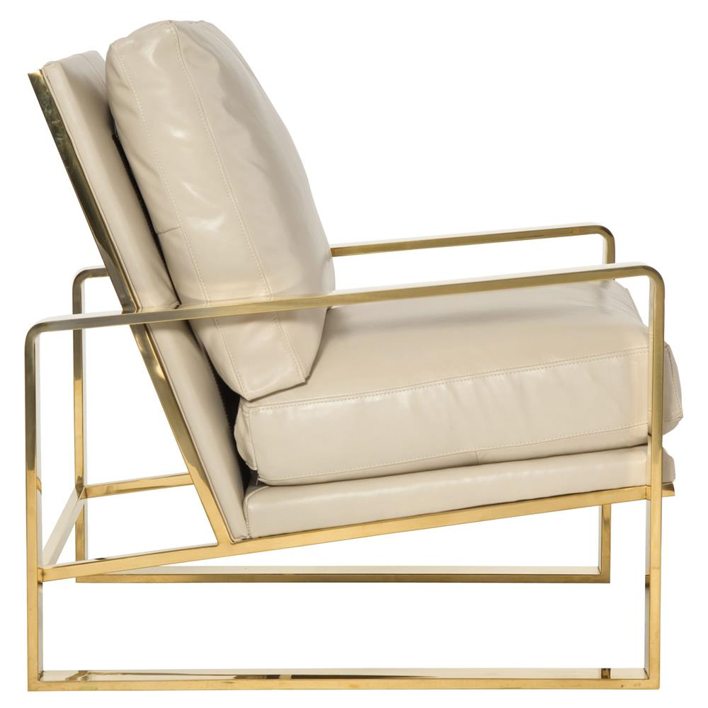 metal armchair swivel chair vw t5 brea hollywood regency cream leather gold kathy kuo view full size