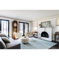 Light Blue Living Room Rugs