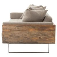 Wooden Frame Sofa With Cushions Magnificent Wood Frame ...