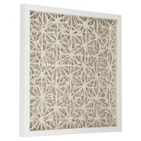 Coastal Modern Abstract Paper Framed Wall Art - II | Kathy ...