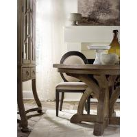 Vadim French Country Round Pedestal Dining Table | Kathy ...