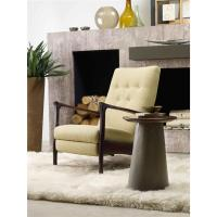Saxton Mid Century Modern Drum Side Table | Kathy Kuo Home