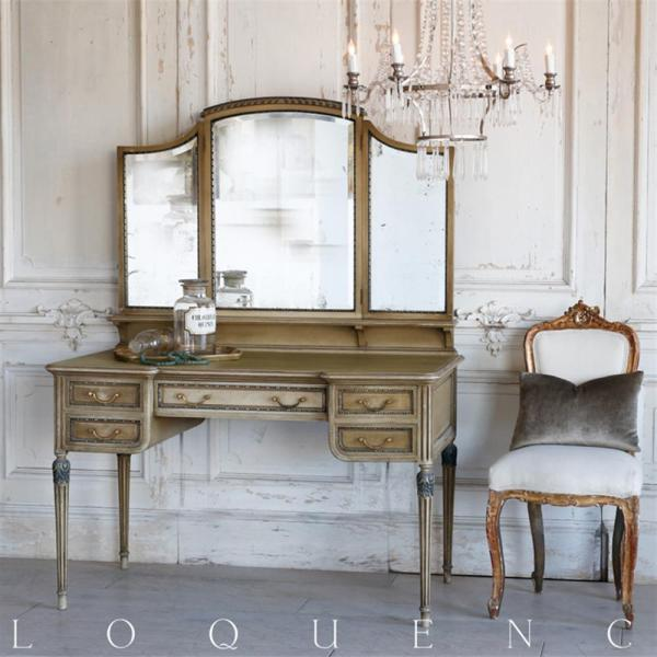Eloquence French Country Style Antique Vanity Desk Kathy