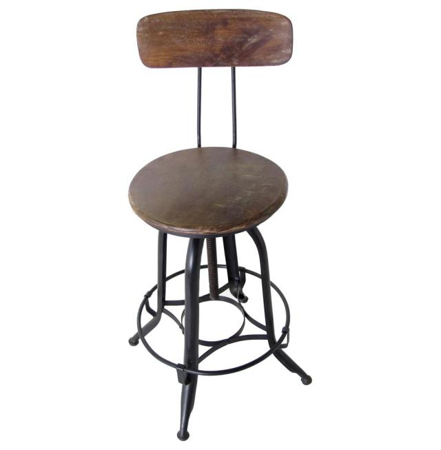 Image Result For Industrial Metal Swivel Bar Stools