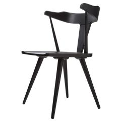 Mid Century Barrel Dining Chair Cane Table And Chairs India Tenly Modern Black Oak Back Kathy Kuo Home