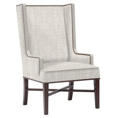Dining Wingback Chair Poul Jensen Jacqueline Hostess Wing Back Occasional Arm