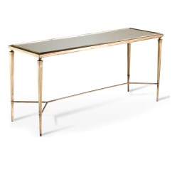 66 Inch Wide Sofa Hotel Istanbul Contact Alina Antique Gold And Mirror Leaf Elegant Console Table