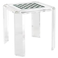 Charlotte Modern Classic Acrylic Hinge Game Table Kathy