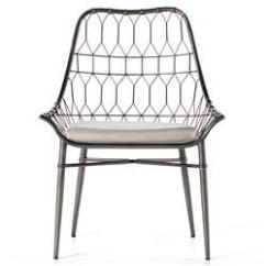 Metal Outdoor Chair Yoga Breathing Exercises Albin Scooped Dining Kathy Kuo Home
