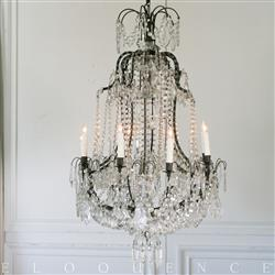Eloquence French Country Style Antique Chandelier 1880 Kathy Kuo Home