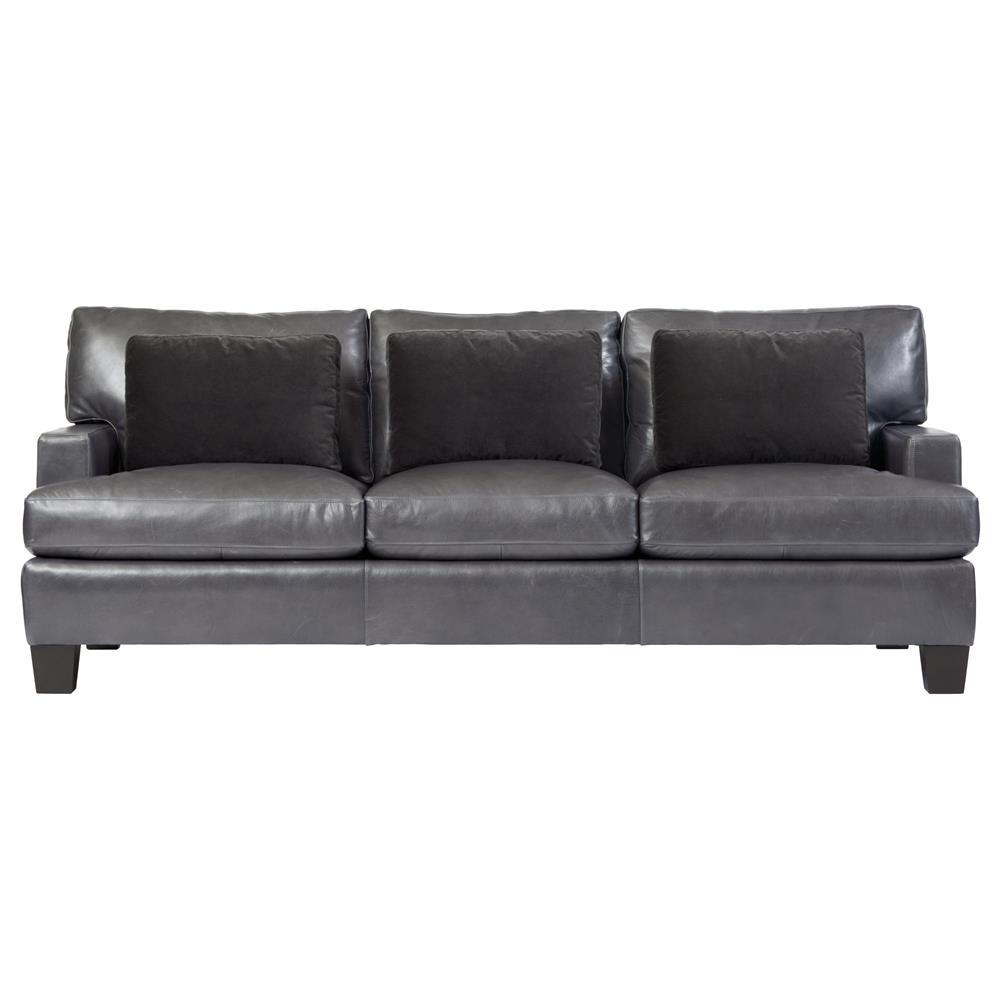 sienna sofa how to fix a leather tear modern classic mocha wood grey kathy kuo home