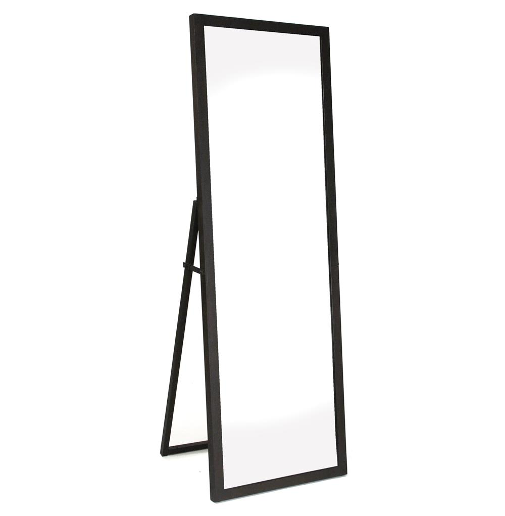 Simon Contemporary Industrial Metal Frame Floor Mirror