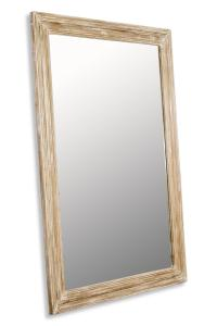Brignoles Rustic White Grey Wash Grande Floor Mirror ...