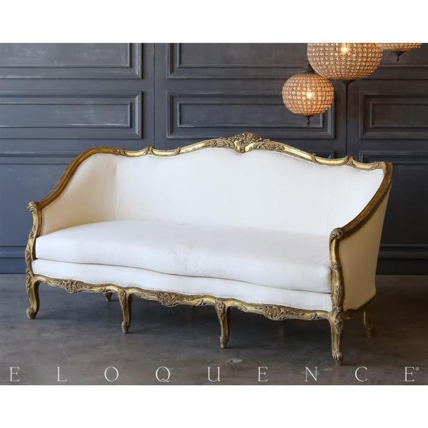 Distressed White Daybed