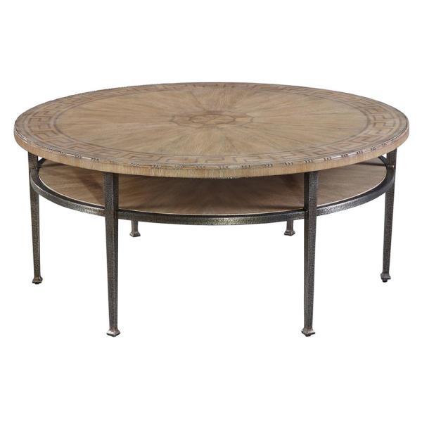 Round Iron Coffee Table