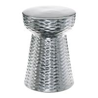 Silver Garden Stool - Bestsciaticatreatments.com