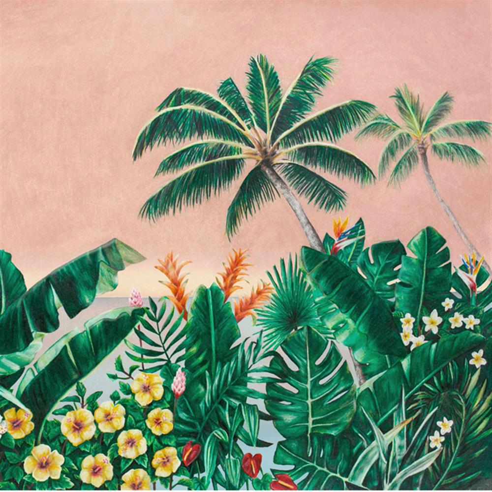 Anewall Melika Modern Classic Tropical Palm Tree Wallpaper Kathy