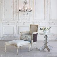 Eloquence French Country Style Antique Accent Bergere and ...