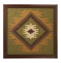 Heartland Lodge Rustic Southwest Kilim Wall Art Decor