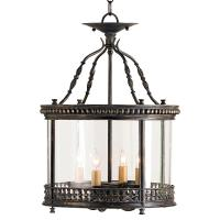 Gardner Wrought Iron French Country Ceiling Lantern ...