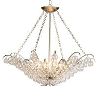 Modern Glass Ball Bubble 4 Light Chandelier | Kathy Kuo Home