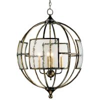 Broxton Seeded Glass 4 Light Orb Pendant Lantern