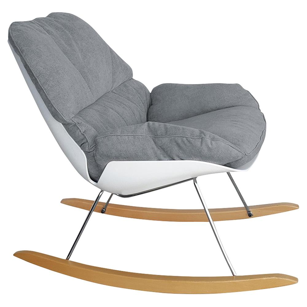 Madison Modern Grey Nursery Rocking Chair  Kathy Kuo Home