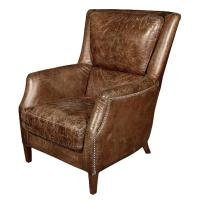 Chelsea Classic Masculine Room Distressed Cigar Leather ...