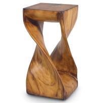 Palecek Faux Wood Rustic Industrial Modern Faux Twisted ...