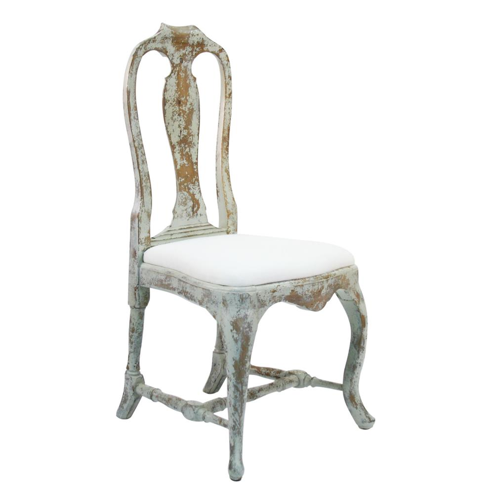 distressed dining chairs vista posture chair french country provence style kathy kuo home