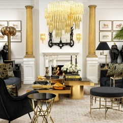 Hollywood Regency Living Room Decorating Ideas Nice Colour Kathy Kuo Home