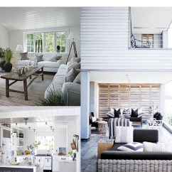 Beach Style Decorating Living Room Ceiling Fan In Yes Or No Get The Look Coastal Kathy Kuo Blog House Styles
