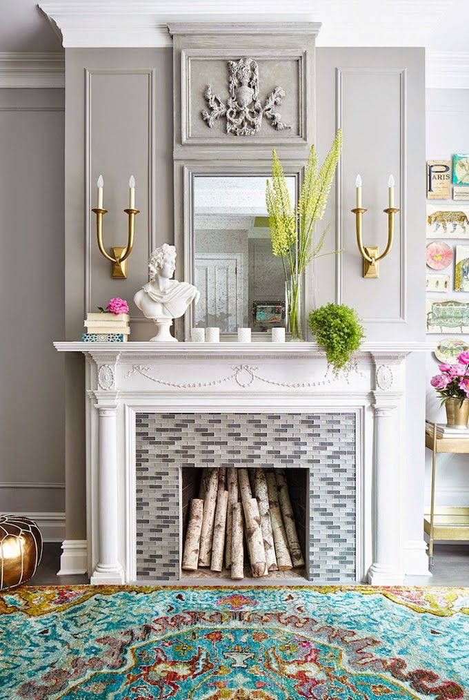 17 Fireplace Decorating Ideas to Die For  Kathy Kuo Blog