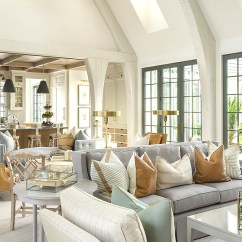 Living Room Open Plan Designs Design With Dark Brown Sofa 6 Tips For An Floor Kathy Kuo Blog Home Define Your Space Rugs Saving Grace