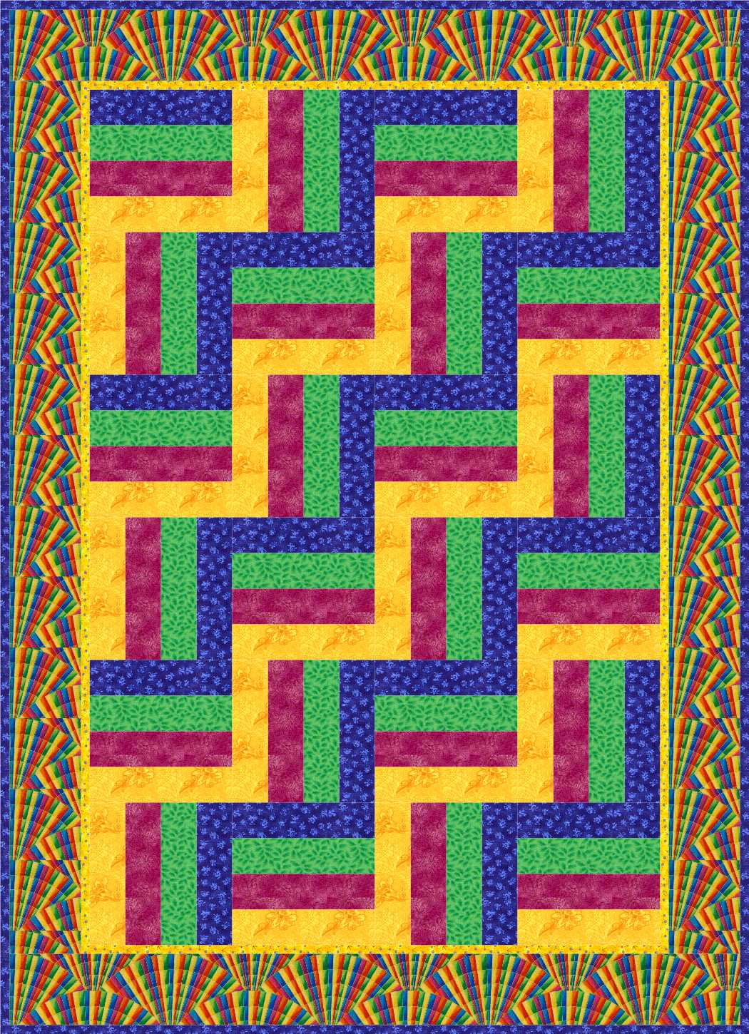 Geometric Shapes In Quilts Squares And Rectangles Kathy