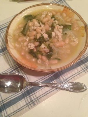 Must Have Winter Recipe #4 – White Bean Turkey Chili