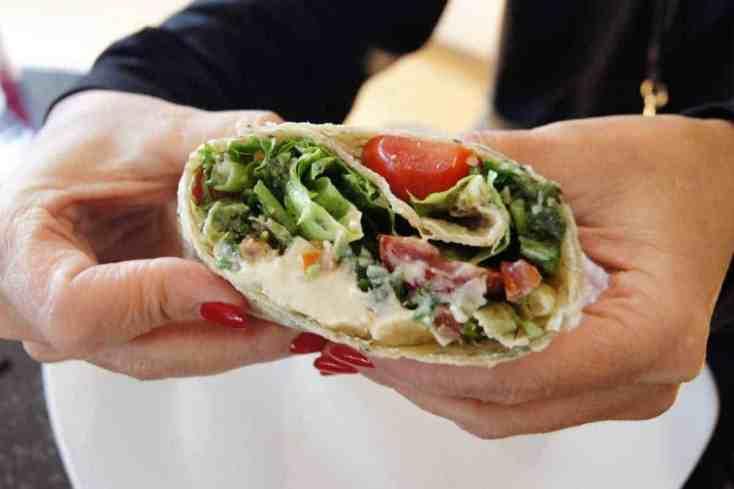 oil-free-hummus-and-tabbouleh-wrap-1 Oil-Free Hummus and Tabbouleh Wrap