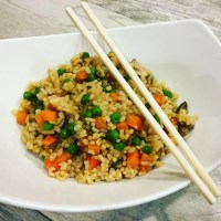 Oil-Free Vegetable No Fried Rice
