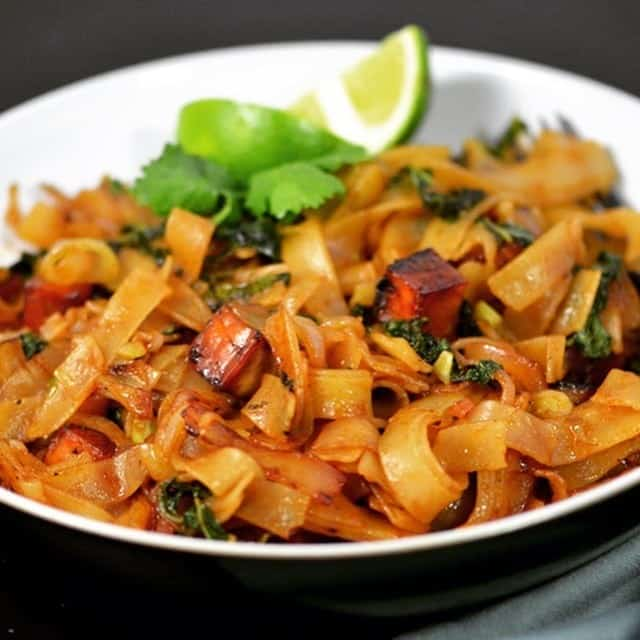 Vegan Drunken Noodles Recipe