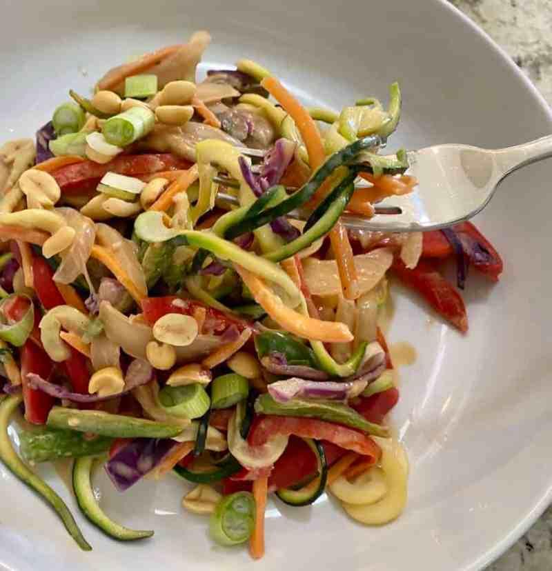 zoodle pad thai recipe