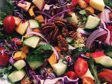 44891736542_720b77f7cc_o-300x225 Harvest Quinoa Salad with Smokey Maple Dijon Dressing