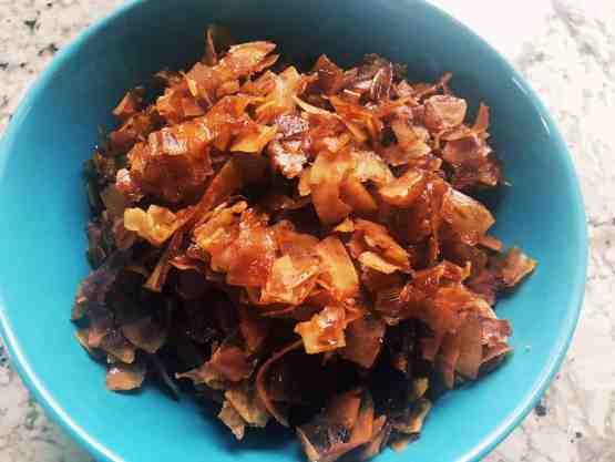 31145889298_d9790cb285_o-300x225 Vegan Coconut Bacon