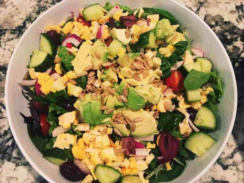 32814074998_ddb759fbd6_o-1024x768 Vegan Ingredient Salad with Champagne Vinaigrette Tahini Dressing