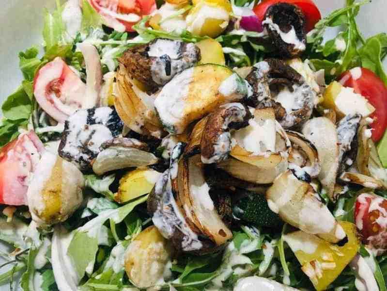 grilled vegetable salad recipe