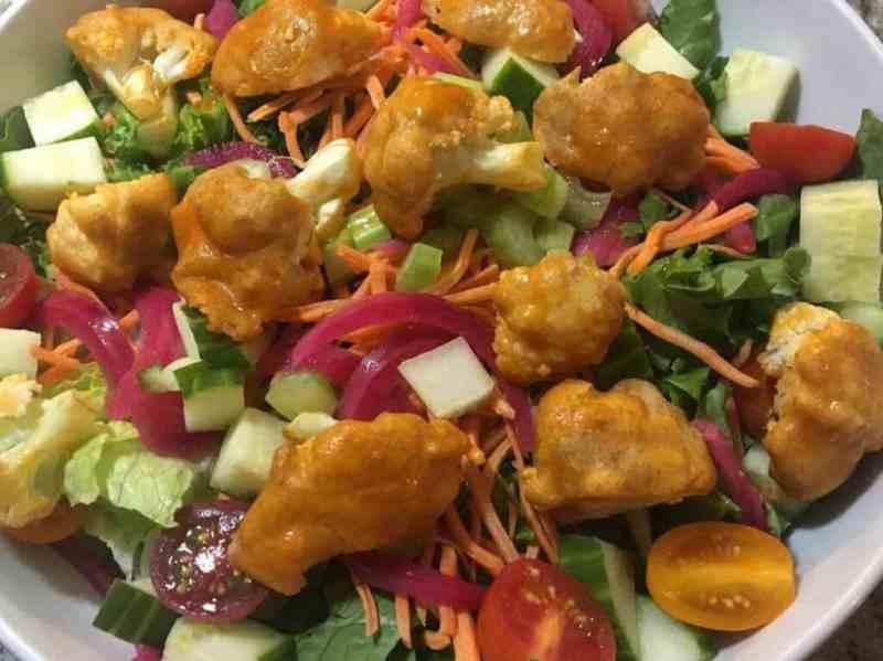 buffalo cauliflower salad recipe