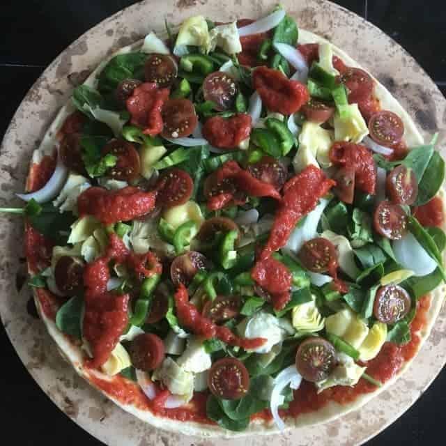 incredible-vegan-oil-free-pizza-sauce Skinny Oil-Free Pizza Sauce and Pizza Dough