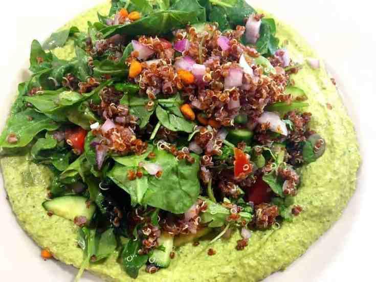 43012542451_a849db0920_o Skinny Cilantro Jalapeno Hummus Salad Dip
